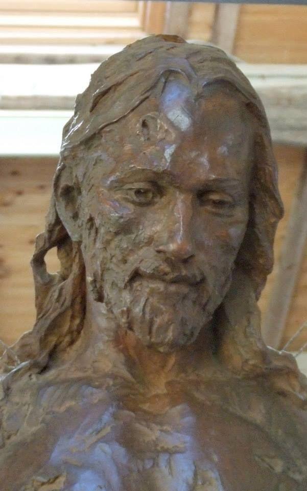 Sculpteur : Christophe Charbonnel - Christ en Gloire, 2008
