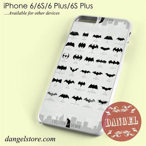 Evolution Of Batman Phone case for iPhone 6/6s/6 Plus/6S plus