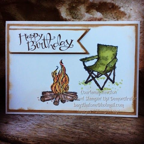 Bags That One! Male birthday card