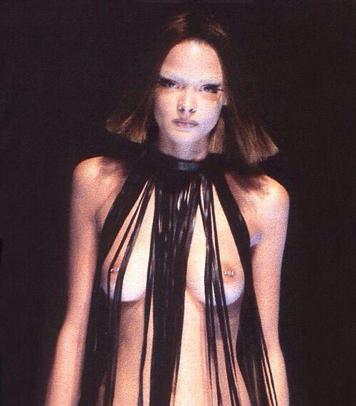 James King, Alexander McQueen Spring 1998 runway show
