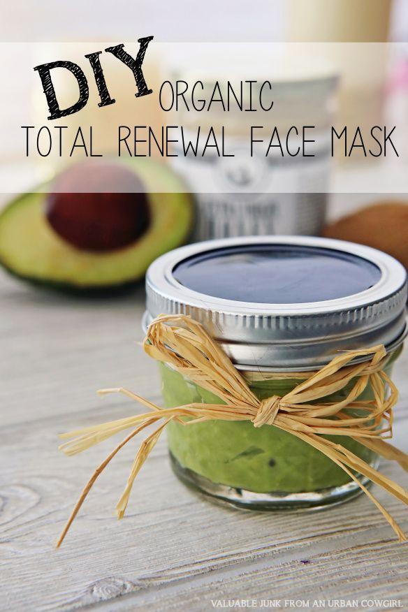 diy organic mask diy organic total renewal mask gift for a friend diy handmade gifts