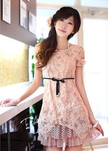 Mu00e1s De 1000 Ideas Sobre Vestidos Largos Juveniles En Pinterest | Vestidos Largos Moda Coreana Y ...