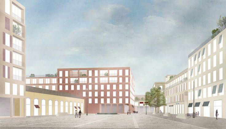 Gallery - Studio 015 Paola Viganò Wins Competition to Masterplan Rome's Progetto Flaminio District - 4