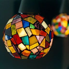 Mosaic lights