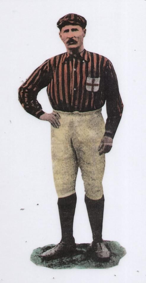 Herbert Kilpin, uno dei fondatori del Milan