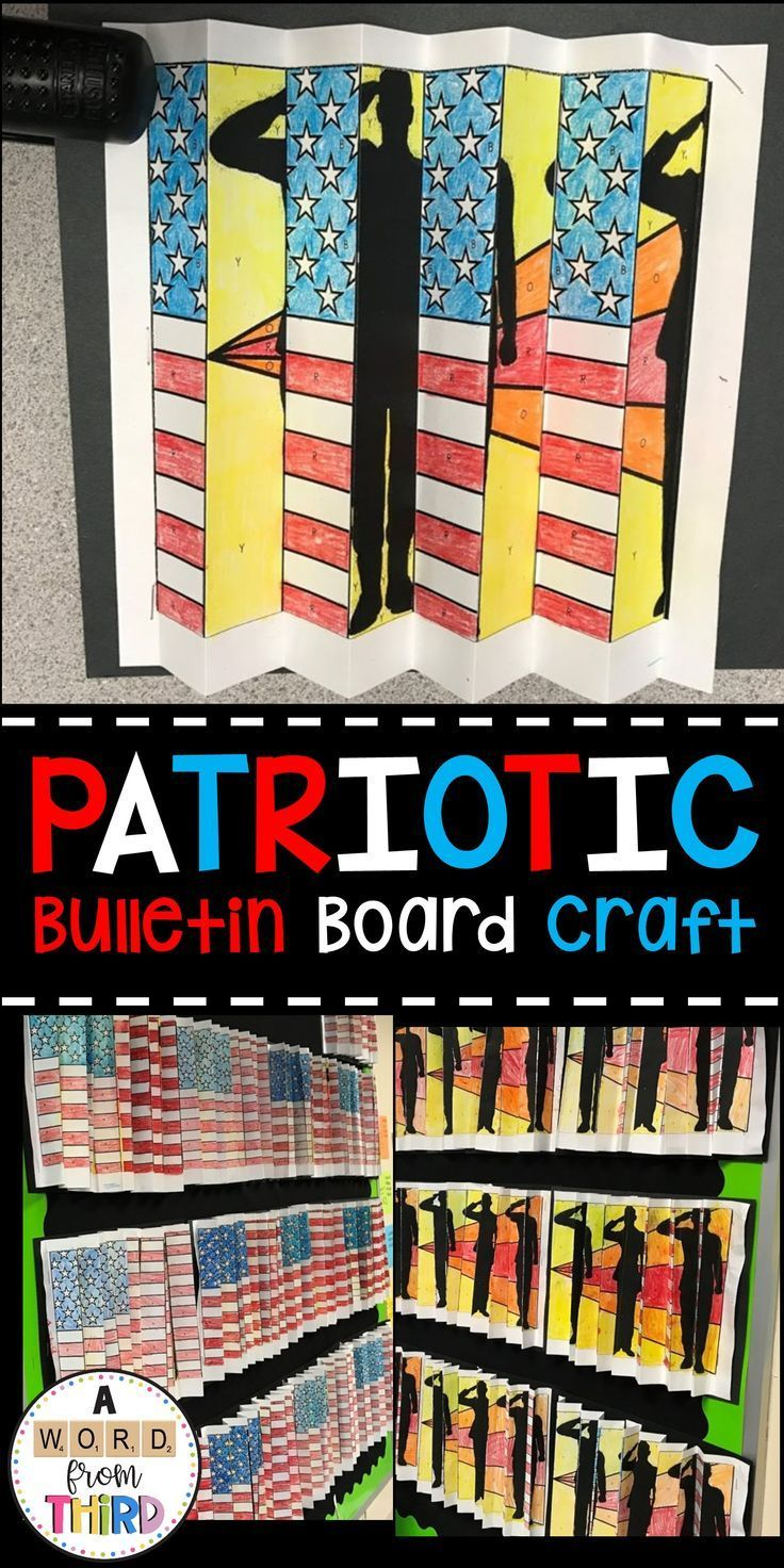 Perfect craft for Memorial Day, Veterans Day, and …