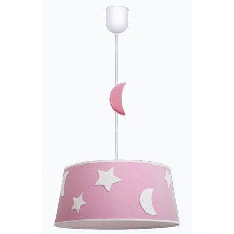 Lámpara de techo Firmamento.  Este tipo de lámpara infantil es perfecta para la habitación de su pequeña, le da un toque alegre y simpático al dormitorio.