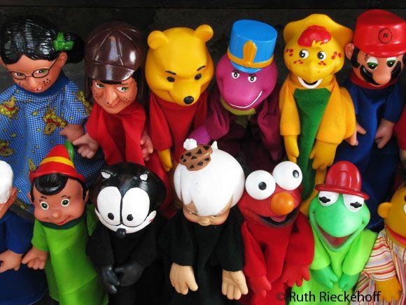Puppets, El Parian, Puebla, Mexico