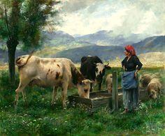 A Prairie by Julien Dupré