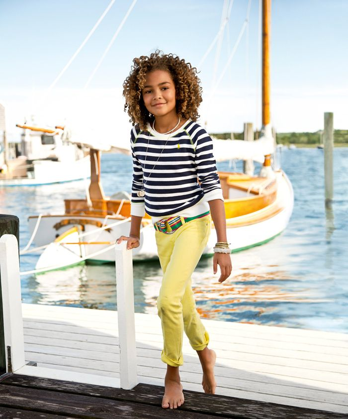 A new take on nautical from RL Girls