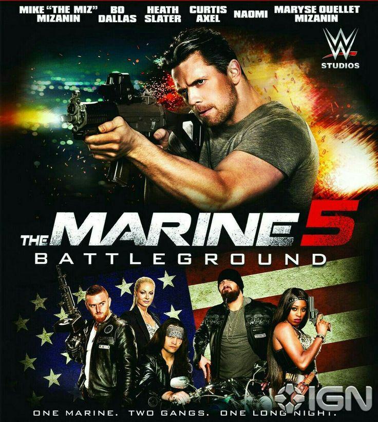 The Marine 5 Starring Miz, Maryse, Naomi, Bo Dallas, Curtis  & Heath Slater