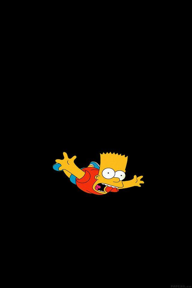 FreeiOS7 - ag70-bart-simpson-funny-cute-illlust - http://bit.ly/1AaU3kA - freeios7.com