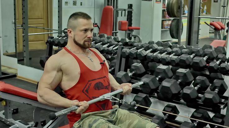 Тренировка спины. Суперсеты. Как накачать широкую спину