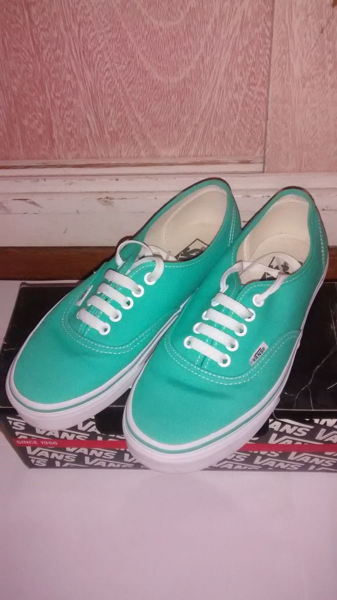 Zapatillas Color Verde Agua 5fece267e74
