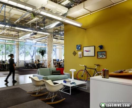 chive office. Chive Office. Office Spaces That Put Your Crap Cubicle To Shame (26 Photos) E