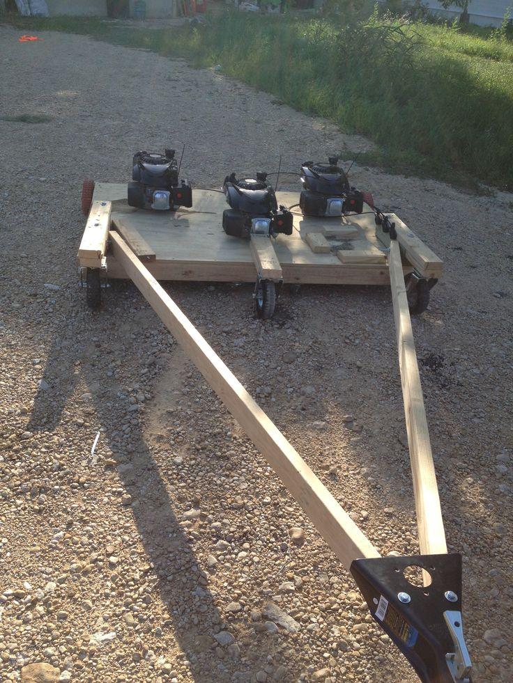 Home made lawn mower Diy lawn, Yard tractors, Backyard