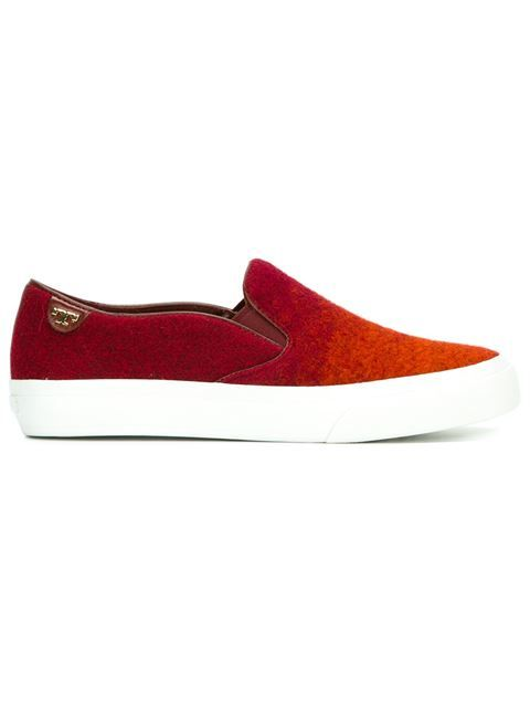 Tory Burch chaussures de skate à effet dégradé