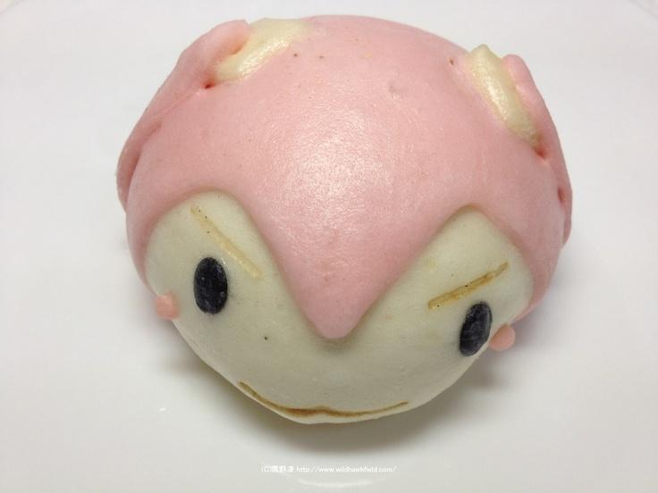 ファミリーマート「初音ミク de 桜ノ歌のキャンペーン」の桜ミクまん(こしあん)といちごみたいなメロンパンを買ってきた - 見て歩く者 by 鷹野凌 -