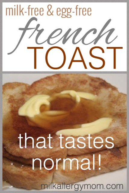 Original Post 12-10-10 Life-changer...being able to make french toast without eggs. Probably one of my best discoveries as a food allergy mom! I had been u