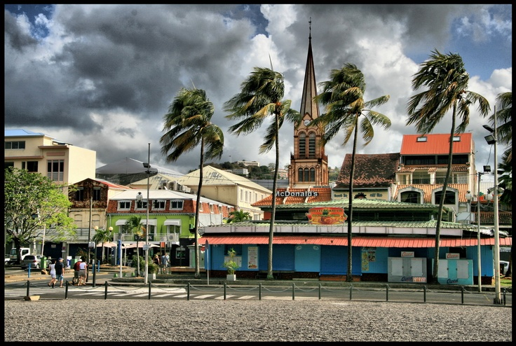 Fort de France  #Martinique #HDR