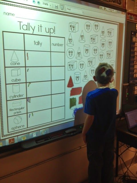 Kindergarten Calendar Interactive Whiteboard : Best ideas about d shapes on pinterest