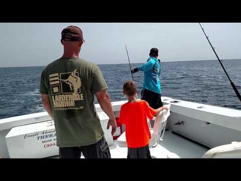 35 best images about miami deep sea fishing on pinterest for Best boat for fishing and family