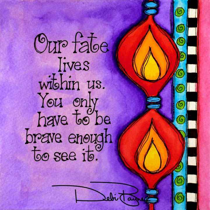"""Our Fate"" by Debi Payne of Debi Payne Designs"