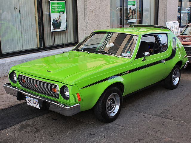 1974 AMC Gremlin X!  Whether you're interested in restoring an old classic car or you just need to get your family's reliable transportation looking good after an accident, B & B Collision Corp in Royal Oak, MI is the company for you!  Call (248) 543-2929 or visit our website www.bandbcollisioncorp.net for more information!
