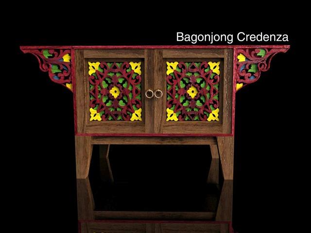Bagonjong Credenza by Brigitta Heni