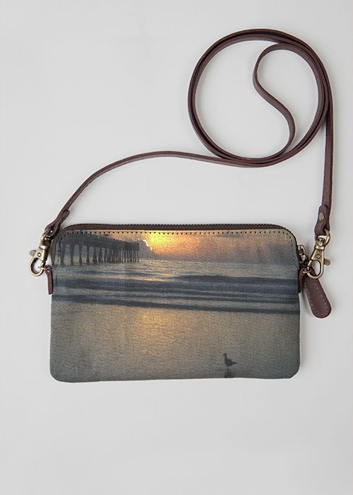 VIDA Leather Statement Clutch - The International Decade by VIDA