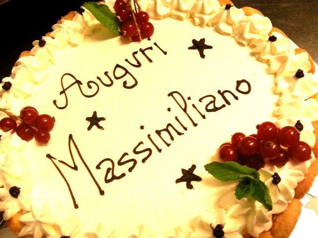 Buon Compleanno dalla nostra pasticceria !!!