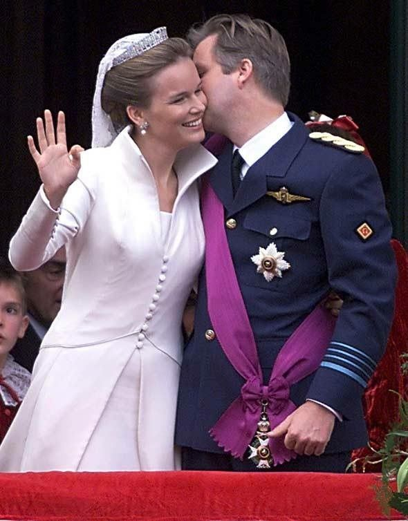 Philippe and Mathilde of the Belgians