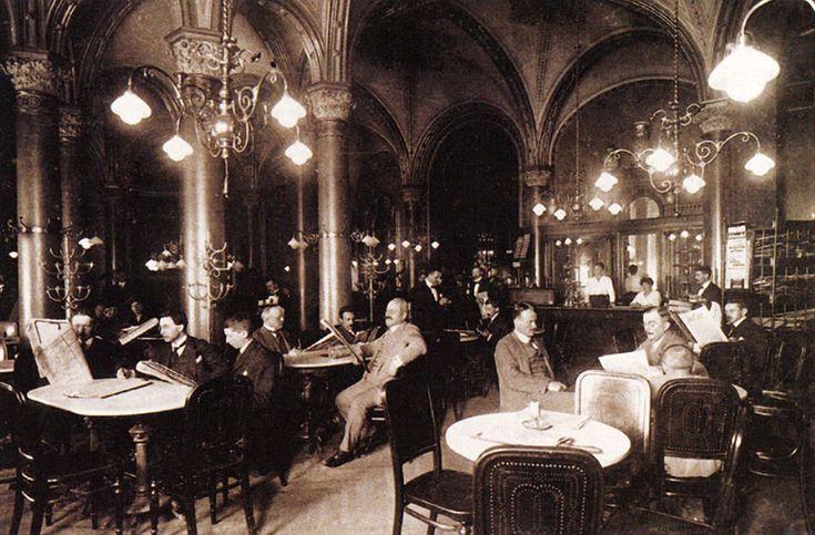 Wiener Kaffeehäuser Café Central Geschichte