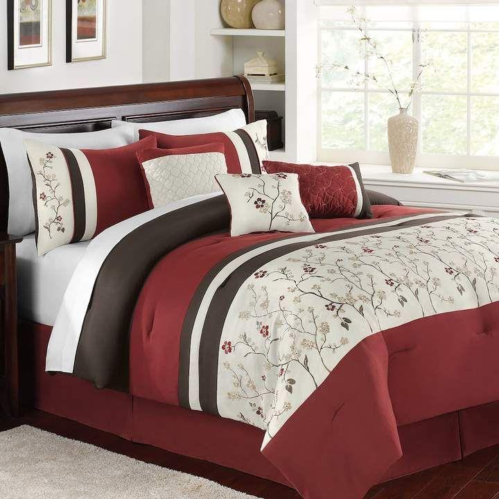 Kohl S Kraemer 7 Piece Comforter Set Kohlsbeddingsets Comforter Sets Queen Comforter Sets Full Comforter Sets