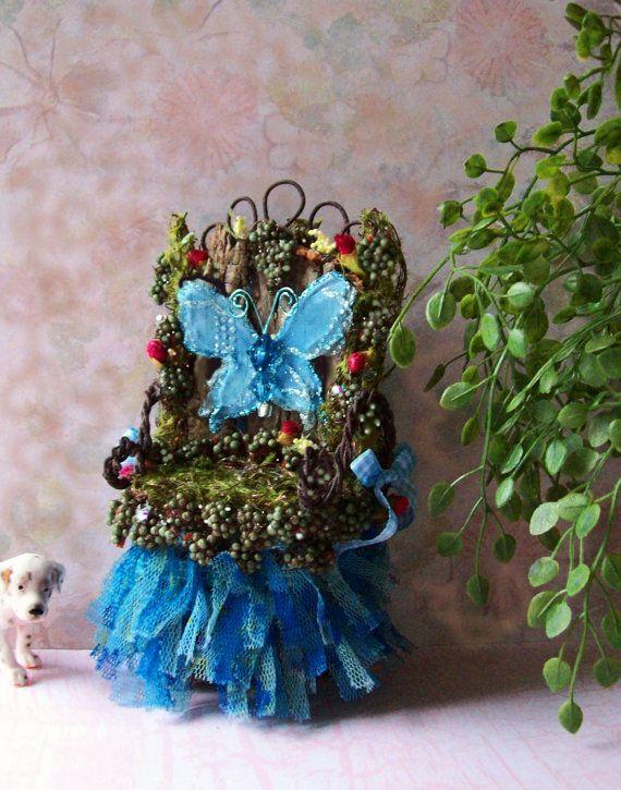 Handmade Fairy Chair.