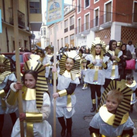 Los faraones de Los Patucos coparon el Carnaval Infantil de Ibi 2014, entre ellos mi guapísima niña… #carnavales #carnaval #CarnavalesIbi #ibi #MiTesoro #TeQuiero