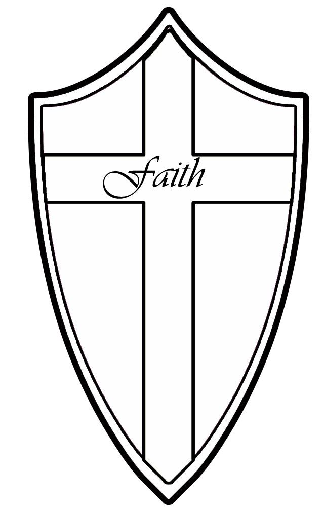 33 best shield of faith images on pinterest quotable for God is my shield coloring page