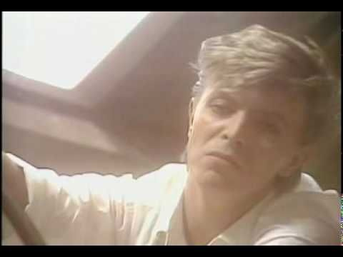 Look back in Anger, Promo video for the 1979 single. Note reflection of the Lazarus bit in the bed, (53 secs in).