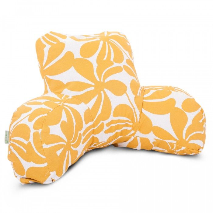 majestic home goods yellow plantation reading pillow