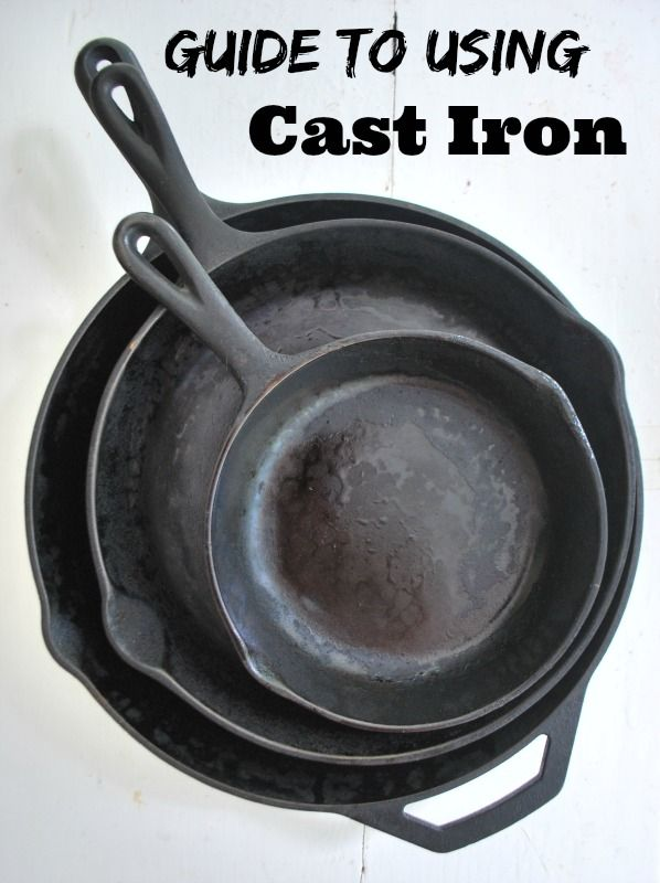 The Ultimate guide to using and caring for Cast Iron Pans.