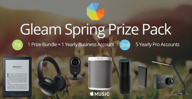 Mommy Comper Shared: Win Gleam Spring Prize with 1 Year Business Account – #Giveaways (WW),  Click to learn more: http://www.mommycomper.com/2016/11/win-gleam-spring-prize-with-1-year-business-account/