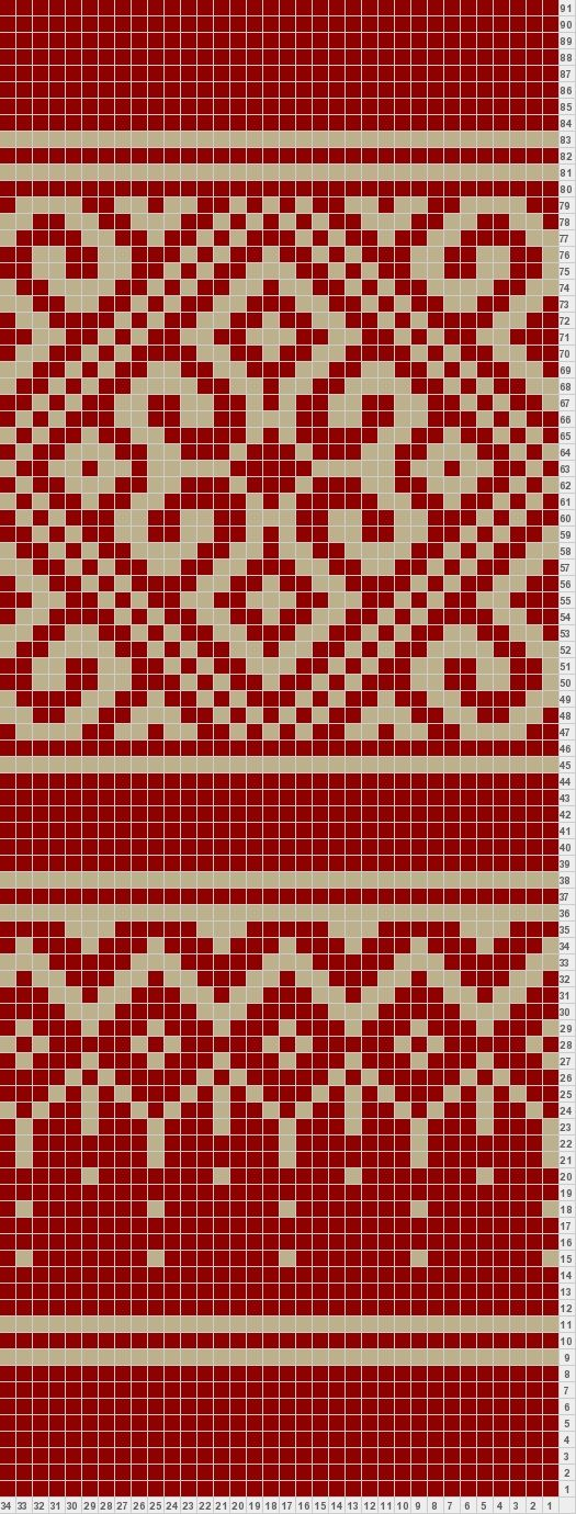 filigree- potential sock pattern