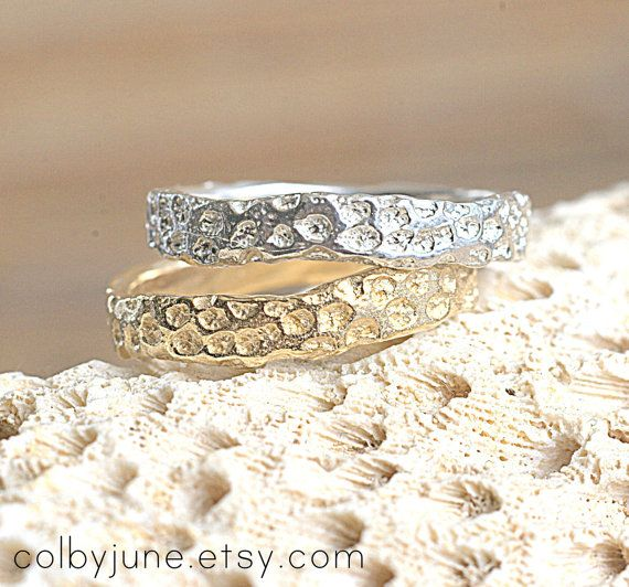 Gold Vermeil Coral Ring Rings Contemporary by ColbyJuneJewelry, $65.00