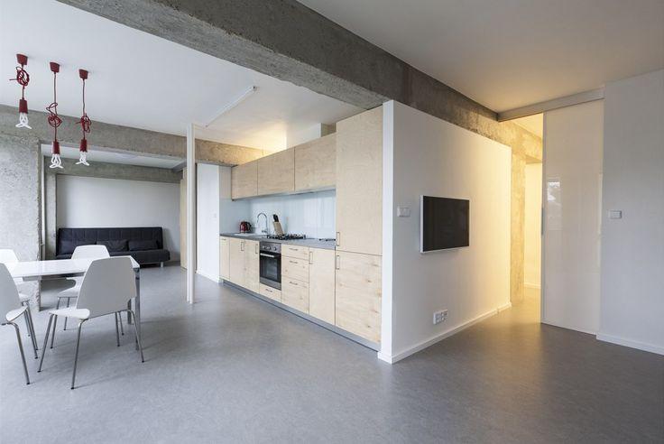 Byt na sídlišti Červený vrch má 75 metrů čtverečních.