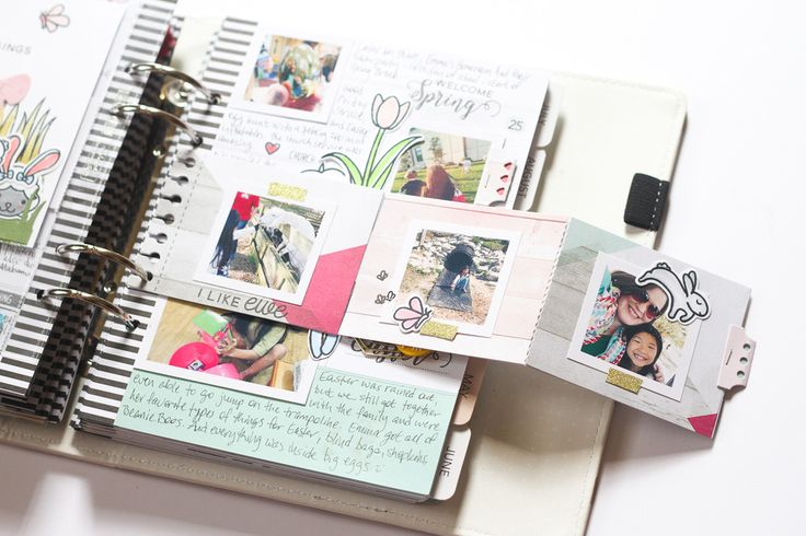 Memory Planner - Week of Easter by patricia at @studio_calico
