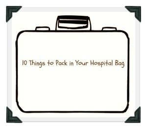 Things you need to pack in your hospital bag #labor #pregnancy