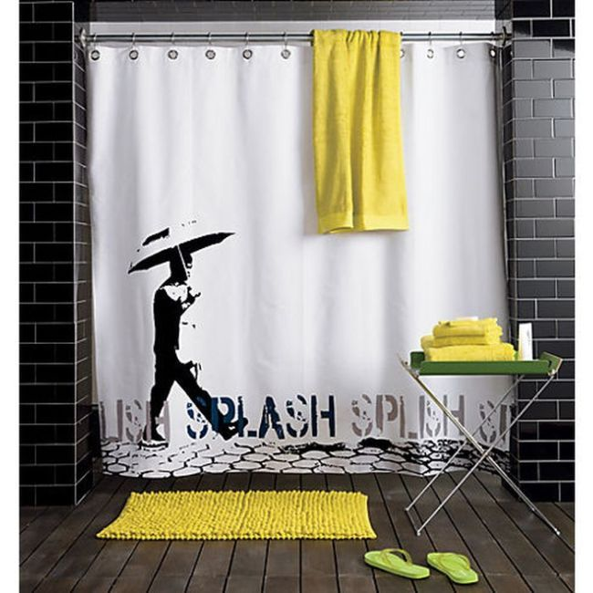 Creative Shower Curtains (30 pics) | Bathroom | Pinterest | 30 ...