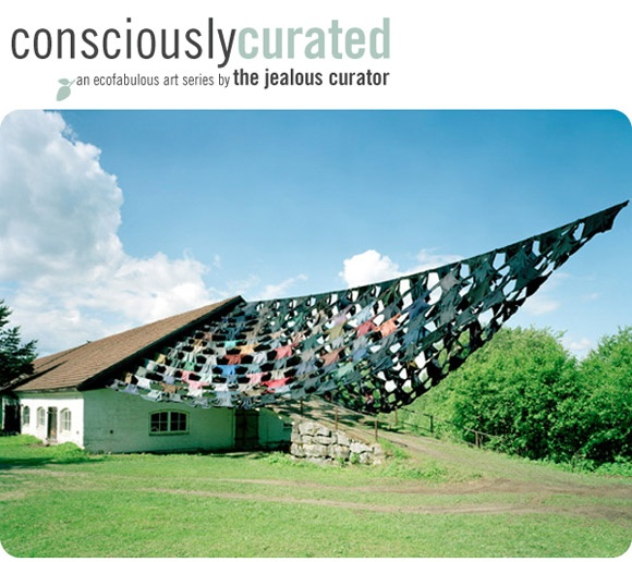 consciously curated art installation.