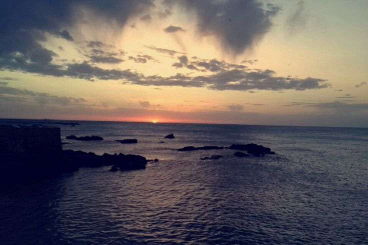 Loving the sunset
