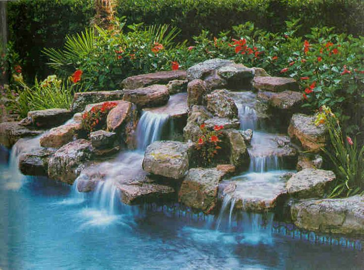 Best 25 Pool Waterfall Ideas On Pinterest Grotto Pool Outdoor Pool And Pool With Slide
